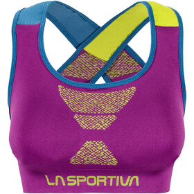 La Sportiva W's Focus Top Purple/Apple Green